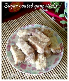 Sugar Coated Yam Sticks (古早味反沙芋头)  A very traditional Teochew dessert that is hard to get nowadays. Only 3 ingredients recipe but a bit hard to master. I especially like the sandy sugar coated with the yam stick. It is not as sweet as one thought. Ever wonder how these sugar is coated? 这是潮汕有名的小吃 ,反沙芋头。现在很少见,不知道有人知道,喜欢吗? #guaishushu   #Kenneth_goh  #反沙芋头  #sugar_coated_yam_sticks