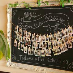 ゲストを喜ばせるためには? 花嫁こだわりはあちらこちらにあるからウェディングはおもしろいんです。 #花嫁 #ウェルカムスペース #ウェルカムボード #ウェディング #結婚式 #チェキ #wedding #bridal #宇都宮 #栃木 #妻 #夫 #夫婦 #手作り #love #全国のプレ花嫁さんと繋がりたい #日本中のプレ花嫁さんと繋がりたい #プレ花嫁 #ウエディング#プラム #ウェディング情報館プラム