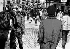 Hideo Yamamoto Manga Art, Manga Anime, New Series To Watch, Netflix Original Anime, Homunculus, Japanese Animated Movies, Japanese Horror, Anime Recommendations, Quirky Art