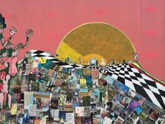 collage in paintings