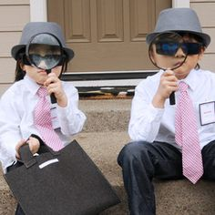 From Sally J Shim....secret agents