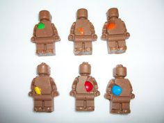 365 DAYS OF PINTEREST CREATIONS: day seventy two: chocolate lego minifig's