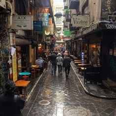 Degraves Street runs between Flinders Street and Flinders Lane, and is partly responsible for the reputation Melbourne has for boasting the world's best and most bohemian laneways. It leads into Centre Place where you can pop into one of many cool eateries or bars like Jungle Juice or Hell's Kitchen and do a spot of people-watching with a cool drink in hand.