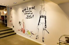 Fashionable illustraties van Lovisa Burfitt in je interieur