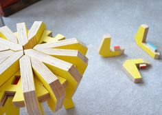 Asterisk: A Childrens Puzzle Stool