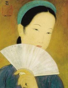Vietnamese Silk Painting | Painting on Silk by Vietnamese Artist Mai Trung Thu