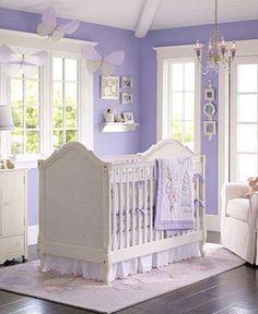 Modern Beautiful Nursery Crib Bedding Design For Girls