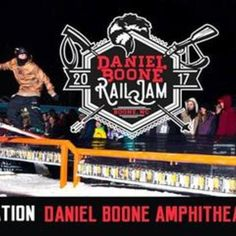 The 2017 Rail Jam will take place at Daniel Boone Amphitheater. Whether your a participant or a spectator, it's going to be a good time!