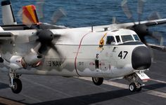 My bus! Grumman C-2a's from San Diego to the USS Carl Vinson somewhere in the Pacific Ocean. 3 days