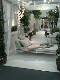 Idea giardino pallet dondolo divanetto