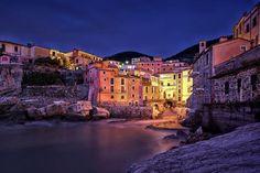 Tellaro...the blue hour by Alessandro Biggi on 500px