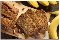 Banana Nut Bread Soap Candle Making Fragrance Oil 1 - 16 Ounce Flours Banana Bread, Healthy Banana Bread, Banana Bread Recipes, Banana Madura, Bolo Fit, Oreo Cheesecake, Crunches, A Food, Food Processor Recipes