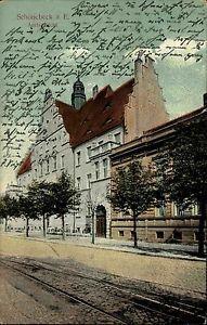 schönebeck elbe  | Schönebeck Elbe Sachsen-Anhalt AK 1914 Amtsgericht Gericht ...