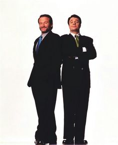 Robin Williams & Nathan Lane Robin Williams Friends, Robin Williams Movies, Christopher Reeve, Captain My Captain, Robert Williams, Guys And Dolls, Celebs, Celebrities, Musical Theatre