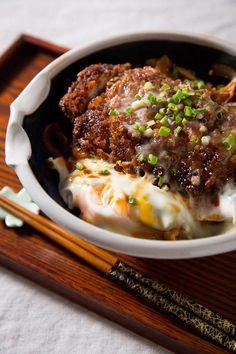 How To Make Katsudon - Pork Cutlet Bowl with Rice - Pork Recipe