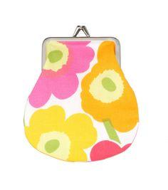Mini-Unikko coin purse by Marimekko.