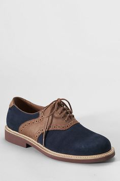 Men's Archer Saddle Oxford Shoes from Lands' End