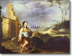 The Prodigal Son Feeding Swine - £124.99 : Canvas Art, Oil Painting Reproduction, Art Commission, Pop Art, Canvas Painting
