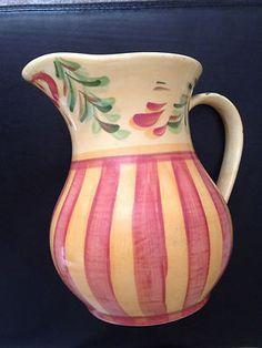Gail Pittman Red Azalea Large Vase Abstract Triangles Boho