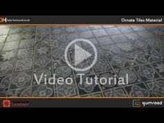 ArtStation - (Tutorial) Ornate Floor Tiles Substance Designer Material, Kyle Horwood