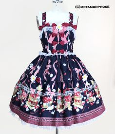 Cherry Berry Song Bustle Dress image 13