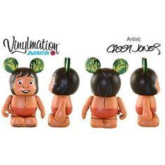 Disney Vinylmation 3'' Figure Animation Series 3 Mowgli Jungle Book CUTE Disney Vinylmation