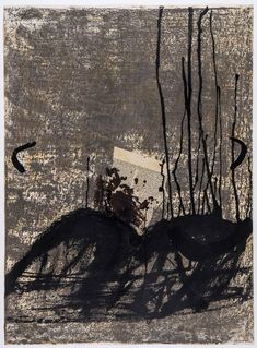 Antoni Tapies, Untitled, Objects, Relief Sable and Senanque II on ArtStack #antoni-tapies #art