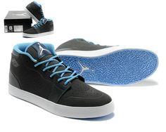 Nike Air Jordan V1 Chukka Mens grey/carolina