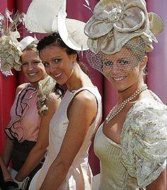 I want a crazy hat and pretend I'm British. :)