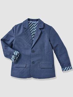 Veste de cérémonie garçon coton et lin - vertbaudet enfant
