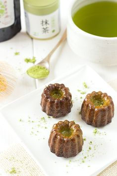 Matcha green tea cannelé recipe