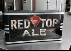 Red Top Ale Beer Sign
