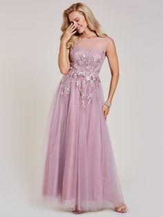 Prom Dress A Line Prom Dresses, Quinceanera Dresses, Bridesmaid Dresses, Formal Dresses, Scoop Neck, V Neck, Cameo, Tulle, Special Occasion Dresses