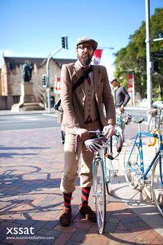 Sydney retro vintage mens street fashion & style