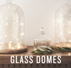 Glass Bell Jar Domes