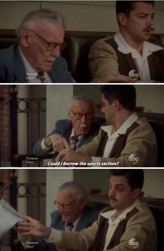 Agent Carter - the requisite Stan Lee cameo in a Marvel production