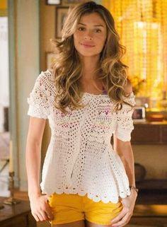 Crochet Skirts, Crochet Cardigan, Crochet Clothes, Irish Crochet, Crochet Lace, Crochet Lingerie, Boho Style Dresses, Lace Knitting, Festival Wear