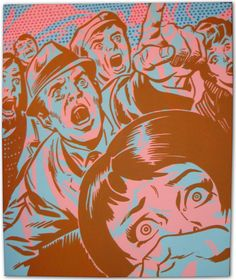 vintage comic book art - Google Search