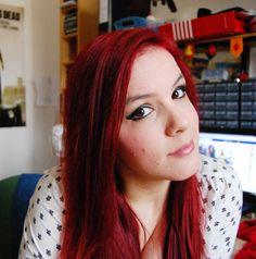 I'm Back! Red Hair  #eyes #hair #red #redhair #browneyes #capellirossi #rosso