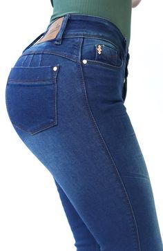 Ref: 404p-2 JEAN OCHENTERO 1 BOTON  (Stone Oscuro) Skinny Jeans, Pants, Fashion, Models, Pockets, Trousers, Dark, Buttons, Darkness
