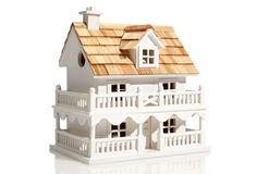 One Kings Lane - Flight of Fancy - Novelty Cottage Birdhouse, White