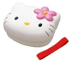 Amazon.com: Sanrio Hello Kitty Face Shaped Bento Box: Kitchen & Dining