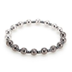 Space Collection Platinum&Blackpearl  #mensfashion#jewelry#bracelet#naturalgemstone#fashion#style#ootd#daily#gift#luxury