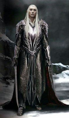 THRANDUIL, complex Elven King of The mirkwoodland  #Lee Pace