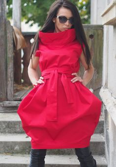 Hey, I found this really awesome Etsy listing at https://www.etsy.com/listing/470186032/new-extravagant-red-dressred-party