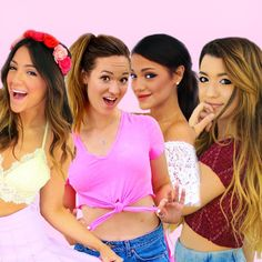 squad on fleek ♡ ps.. NJ MEETUP!! come to iplay america in freehold new jersey on fri. june 26th to see @miastammer @gabriellademartino @nikidemar and of course me!!! get FREE tickets on iplayamerica.com or purchase a vip package with a guaranteed meet and greet!! who wants to come?! :)