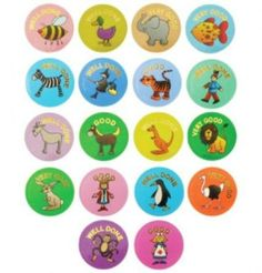 Rainbow Creations EYFS Stickers
