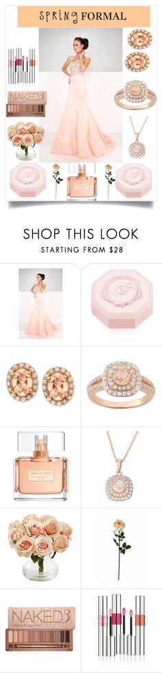 """Spring Formal"" by freida-adams ❤ liked on Polyvore featuring Mon Cheri, Viktor & Rolf, LE VIAN, Givenchy, Nearly Natural, Laura Cole, Urban Decay and Yves Saint Laurent"