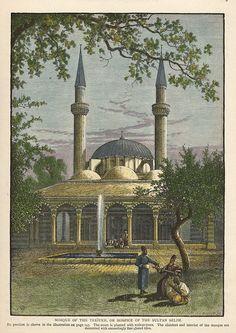 Syria, Damascus, Mosque of the Tekiyeh, 1875