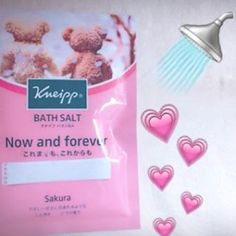 【__ygram__】さんのInstagramをピンしています。 《for my friend🚿 . #shower #bathsolt #kneipp #nowandforever #sakura #cherryblossom #🌸 #japanese #クナイプ #バスソルト #クナイプを贈る #gift #instadaily #picoftheday #桜 #daily #pink #l4l #instagood #photo #showertime #bath #bathtime #お風呂 #🛁》